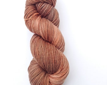 Hand Dyed Worsted Yarn, Knitting Yarn, 100% Superwash Merino Wool, 100g/220 yards