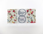 Pocket Handkerchief by BartekDesign: floral light green red yellow blue wedding grooms chic pocket square pochet