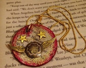 Harry Potter Quidditch Snitch Pendant