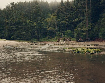 Oregon Coast V - Photographic print - wanderlust, PNW,  coast, pacific, ocean, clean, rocky,  rural, square, 12 x 12, 16 x 16, 20 x 20