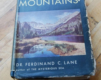 Vintage Book, The Story of Mountains