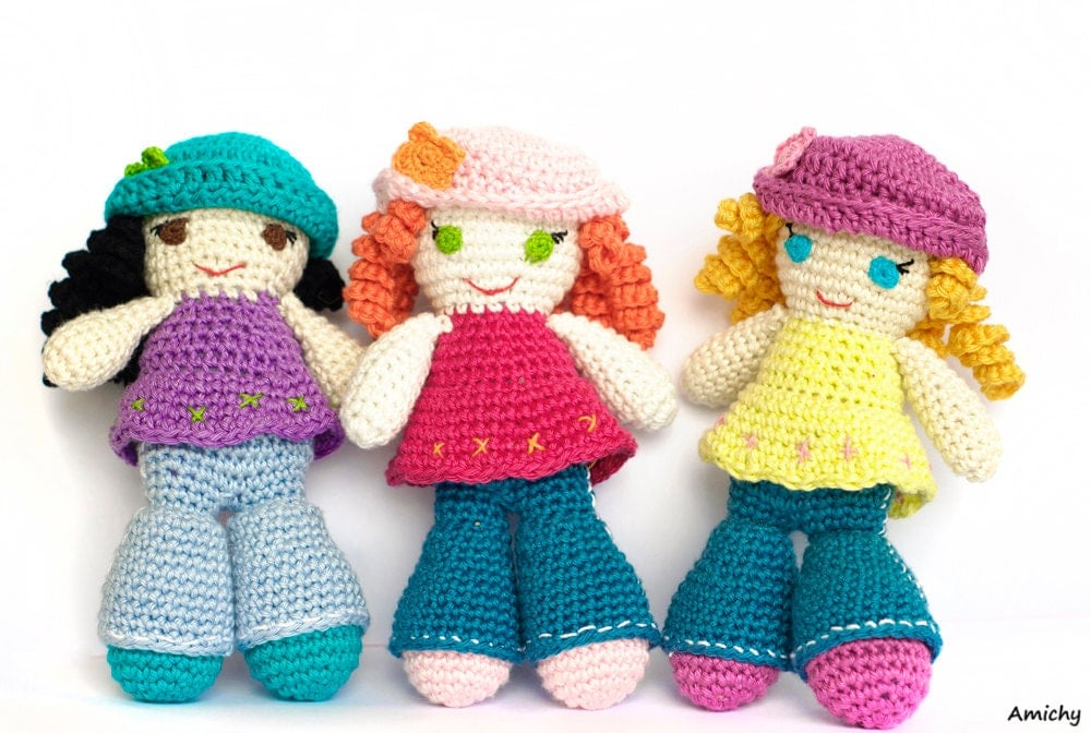 Crochet Pattern Amigurumi Pattern How To Crochet A Doll