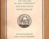 Ibsen Three Plays / Penguin Classics 1959 Paperback / Hedda Gabler