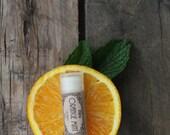 Orange Mint All Natural Lip Balm .15oz tube