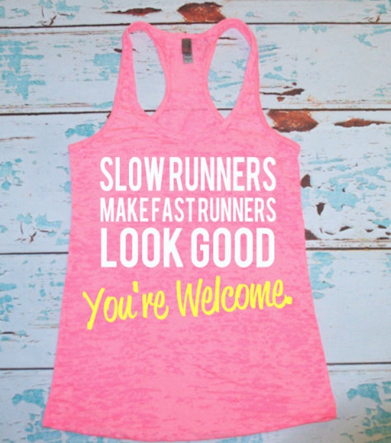 Slow Runners Make Fast Runners Look Good By
