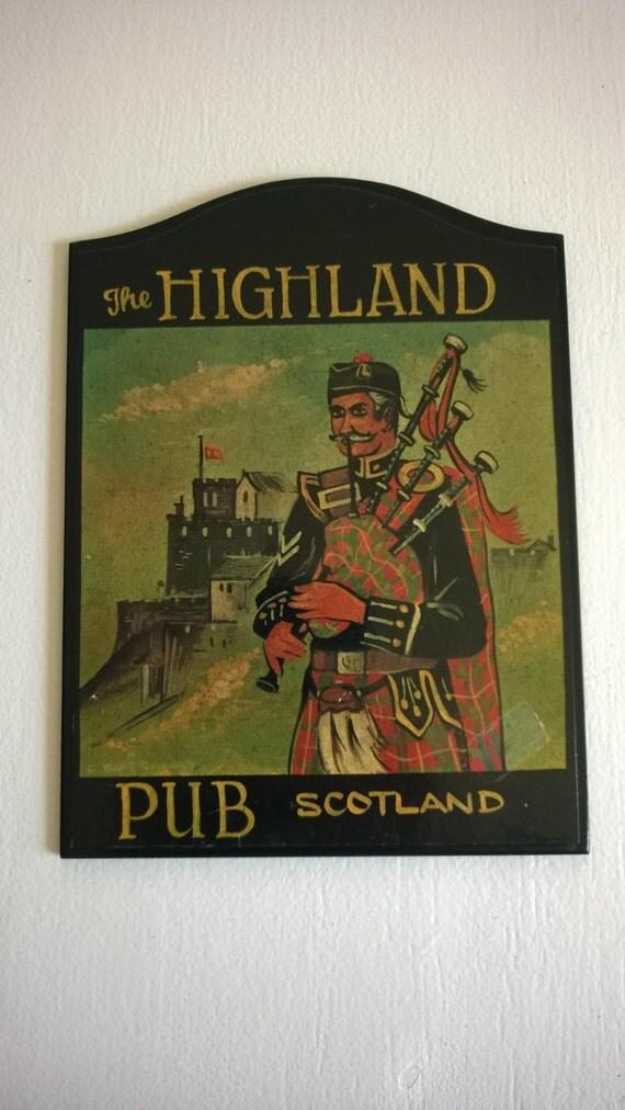 Vintage Pub Sign 6