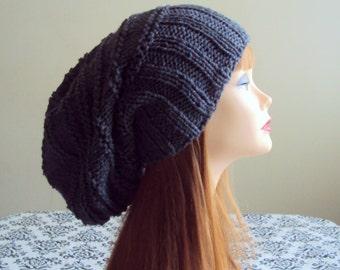 Baggy Hat Chunky Hat Knit Dreadlock  Hat Winter Hat Women Winter Accessories Gift Ideas
