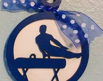 Gymnastics Christmas Ornament