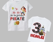 Jake and the Neverland Pirates Shirt - Double Sided Design
