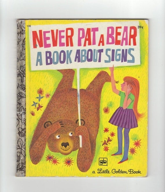 1970s golden book never pat a by mabel watts