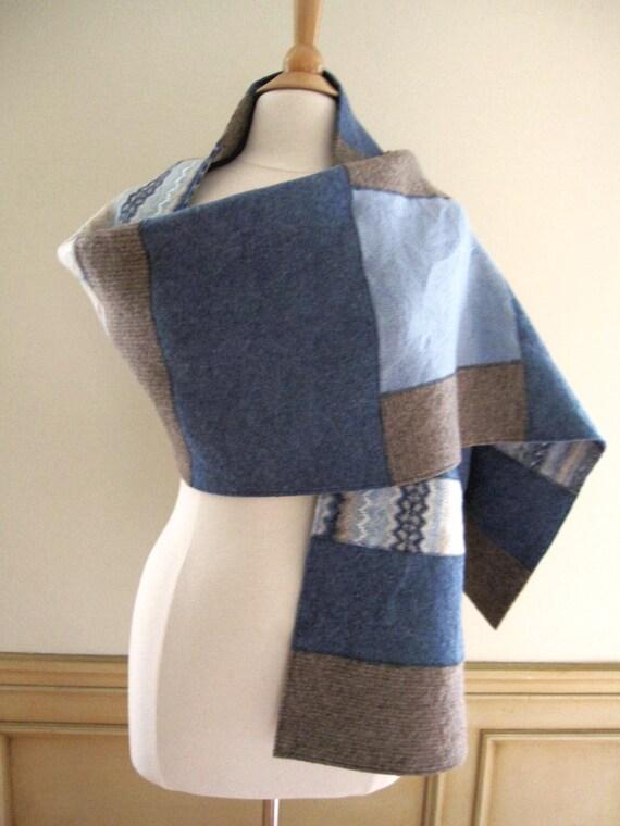 Handmade Wool Wrap Wool Shawl Felted Wool Wrap Felted Wide
