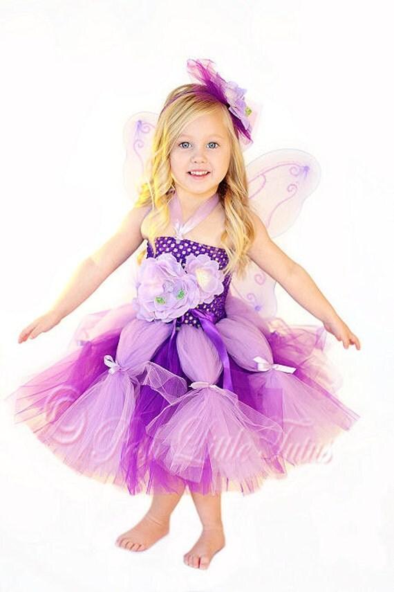 Sweet Little Garden Fairy Enchanting Girls Tutu Dress Set - photo #45