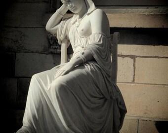 Statue of Cleopatra - Sculpture -  Sculpture of Cleopatra - Wall Decor - Fine Art Photograph - Metropolitan Museum of Art - Cleopatra