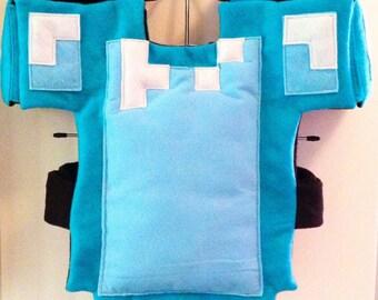 CUSTOM MADE - Minecraft Inspired Golden Chestplate Armor ...