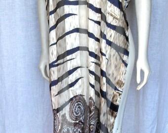 Vintage 90's Escada Extra Large Silk Scarf
