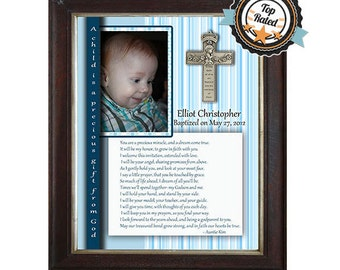 Personalized Christening Gift for Godson from Godparent(s) (PRINT)