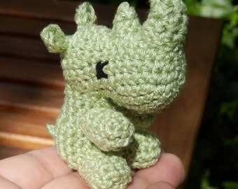 Small Crocheted Rhino