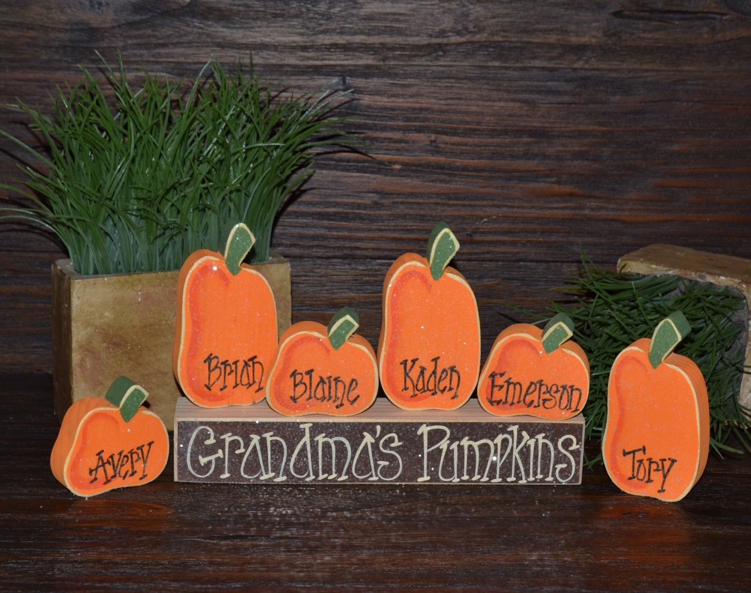Pumpkin thanksgiving decor personalized pumpkins by for How to decorate a pumpkin for thanksgiving