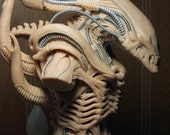 "Alien (Xenomorph) concept bust sculpture inspired by H. R. Giger's ""Alien"""