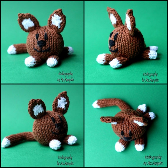 Cat and Dog knitting pattern PDF pattern instant download, pattern suitable f...