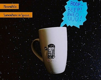 R2-D2 / R2-Tea2 Star Wars Cup