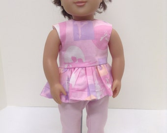 "Ballerina Summer Set   - Fits 18"" American Girl Doll and all other 18"" Dolls"