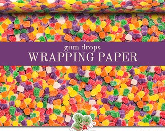 Custom candy wraps | Etsy