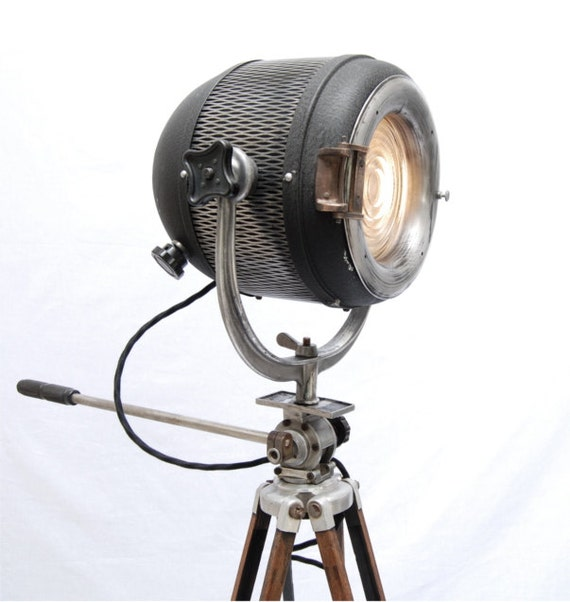 40's Vintage Hollywood Theater Stage Light Spotlight