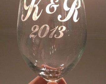Custom Etched Glassware