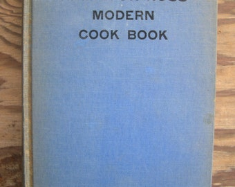 SALE --- nice Hamilton Ross Modern Cook Book by K. Camille Den Dooven 1940 --- Reduced