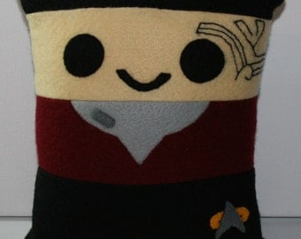 Star Trek Commander Chakotay Mini Felt Cushion