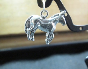 Sterling Silver Horse Charm Very Sweet