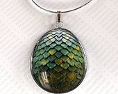 Green Dragon Egg Pendant, Game of Thrones Inspired Jewelry, Dragon Necklace, Game of Thrones Inspired Necklace, Dragon Egg Necklace