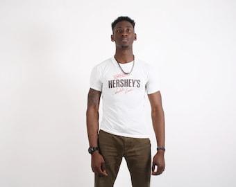 80s Hershey's Chocolate Lover  T-Shirt  - Chocolate Lover  -  1980s Shirt   - 80s T-Shirts  -1702
