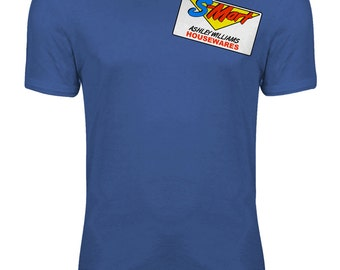 Evil Dead Army of Darkness- Bruce Campbell S-Mart Housewares Womens T-shirt