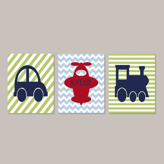 Train Decor For Toddler Room