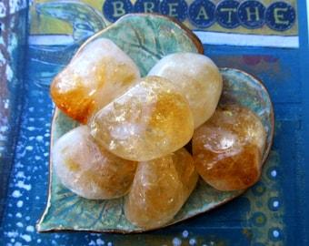 Citrine Crystals, Healing Crystal, Money Stone, Happiness, Abundance, Success, Healing Stones
