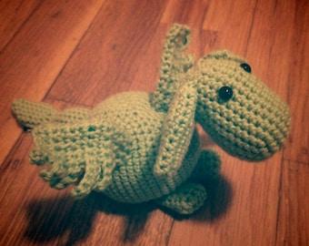 Dragon amigurumi in crochet