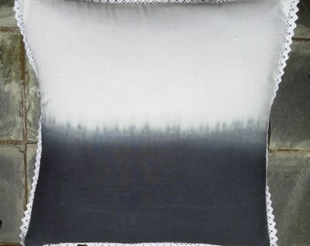 Black and white Tie dye cushions