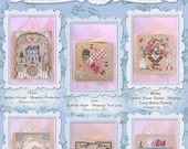 Brooke's Books Overstock Lot SALE All 12 Bride's Tree Ornaments Collection - Cross Stitch Charts-Only Regularly 72 Dollar Value, Now 20