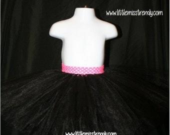 Black Tutu, Tutu Skirts, Children's Tutu Skirts, Black Newborn to 6T Tutus, Black Children's Tutu Skirt, Dress up Tutu, Black Tutu