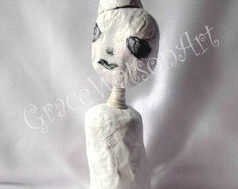 Paper Mache Art Doll ~ Boy Papier Mâché Doll