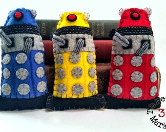 Daleks Set of three - Dr Who plushie