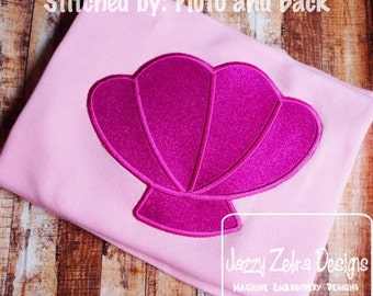 Sea Shell 32 Appliqué embroidery Design - shell applique design - beach appliqué design