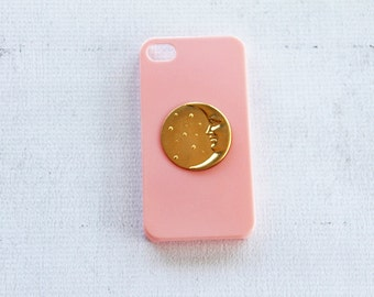 Moon Hipster Sun Case for the Apple iPhone 7  Hipster Pattern Smartphone Cover Facepate Accessory iPhone iPhone 7 Case