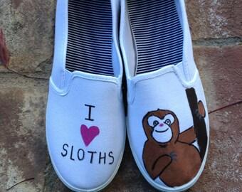 I <3 Sloth Shoes