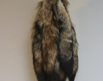 Real Kit Fox Tails with Leather Lace