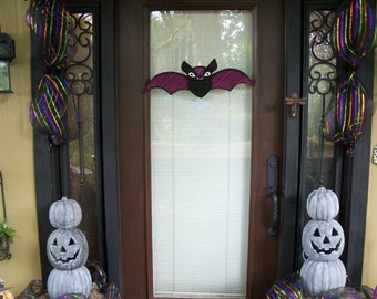 Handmade Halloween, Bat Sign, Halloween Bat, Halloween Decoration, Bat Sign, Halloween Sign, Cute Halloween, Halloween Decor, Handmade Bat