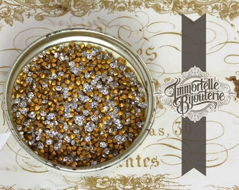 PP12 Crystal Clear Swarovski Rhinestone Chatons -  Article 1100 Austrian 1st Quality MC Crystal - 16pc