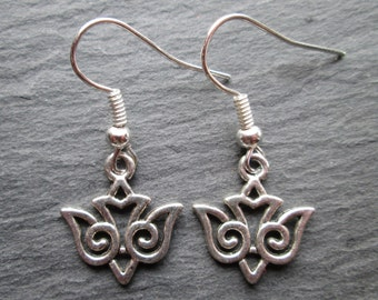Silver Sparrows Dangle Earrings